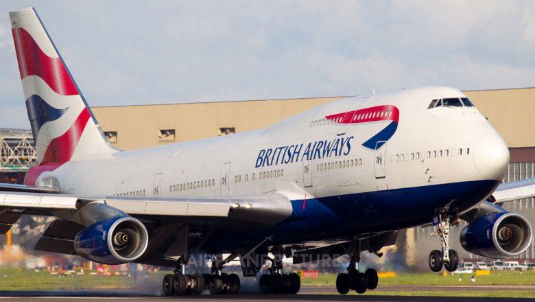 Airlines bid farewell as jumbo 747 begins final approach