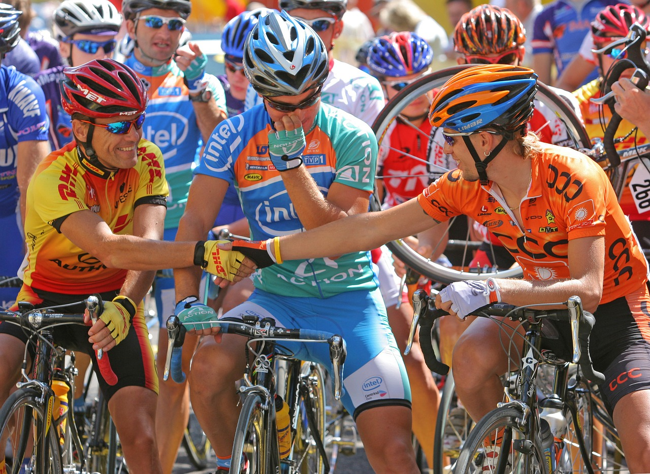 World Cycling event never before
