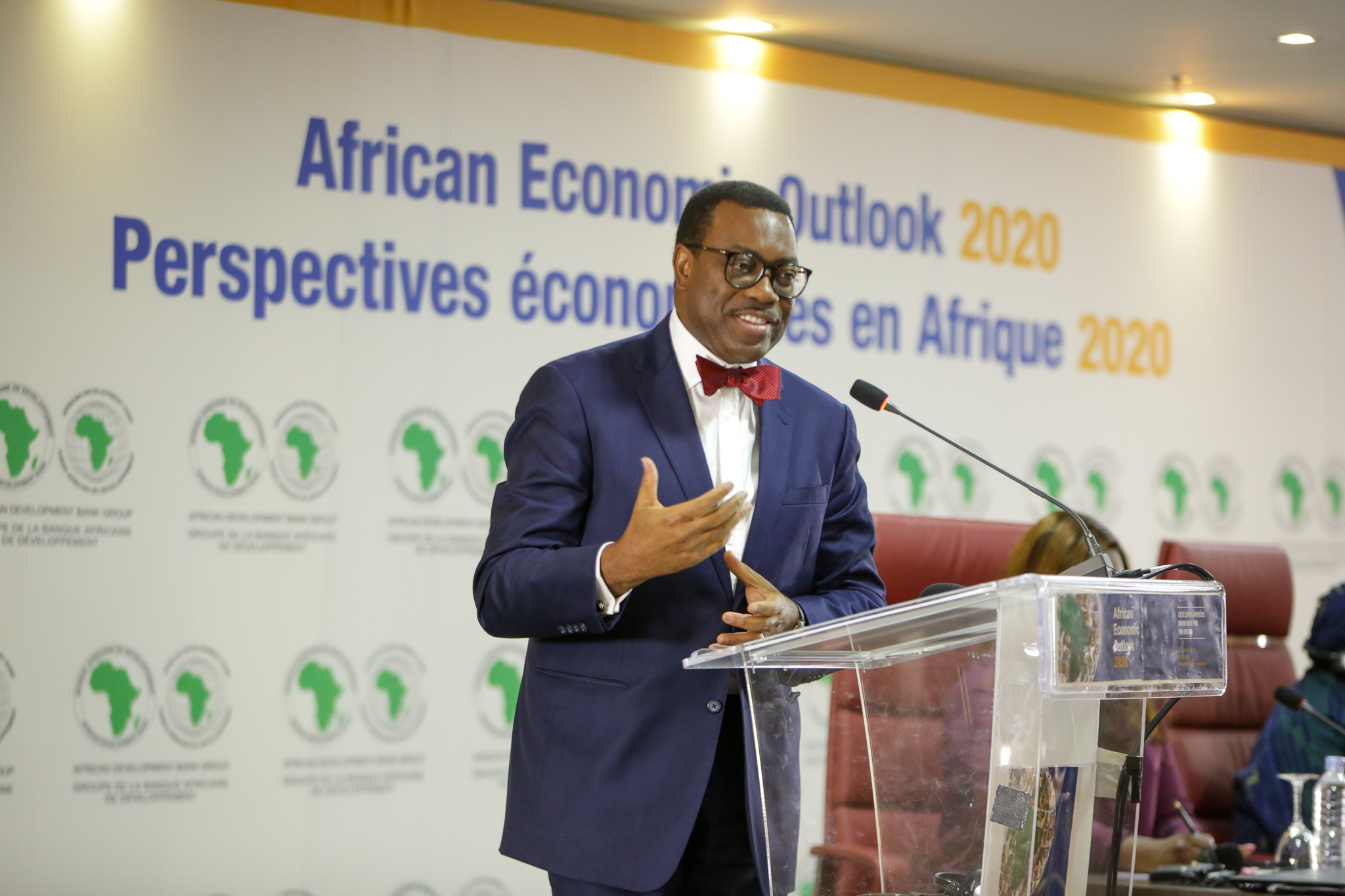 """Nobody eats GDP"" says African Development Bank President as he calls for inclusive growth"