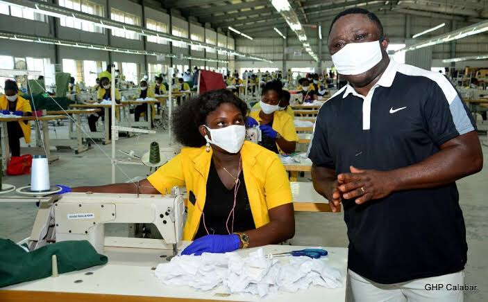 Textile workers seek support on local production of face masks