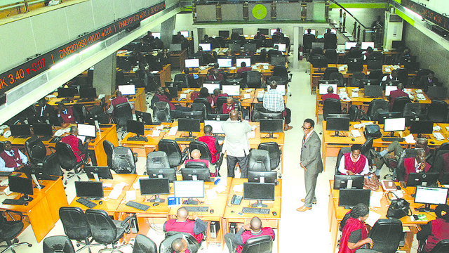 Bearish sentiments drag stock market indices by N56b