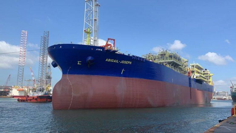NNPC, new FPSO arrives Nigeria