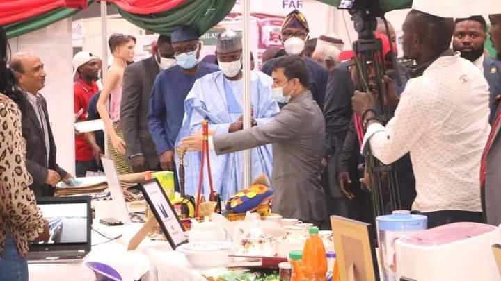 Bangladesh receives 'Best Award'  at the 15th Abuja International Trade Fair, Abuja, Nigeria