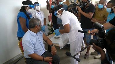 Seychelles begins COVID immunisation campaign