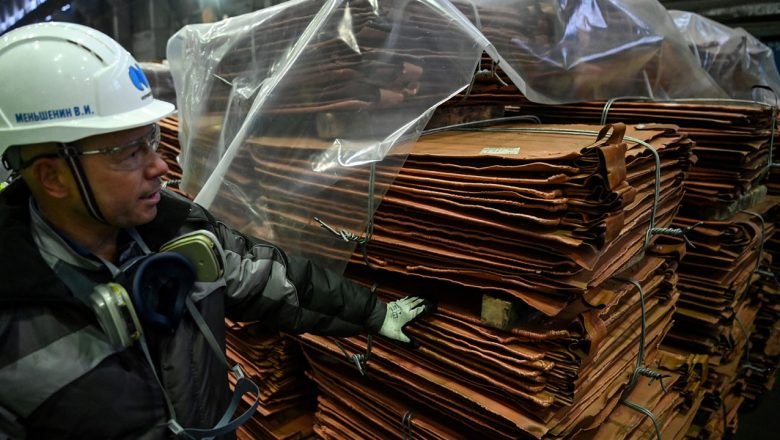 Copper, iron ore hit records as demand surges but stocks mixed