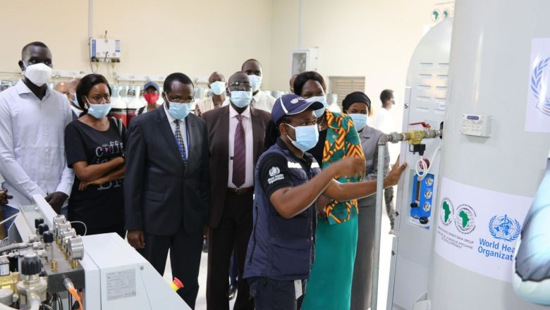 South Sudan: Country's first oxygen plant comes on stream at Juba hospital to help fight Covid-19