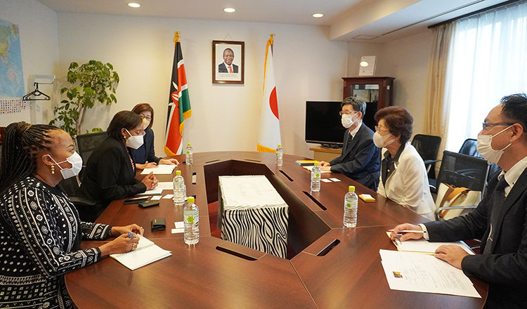 Chairperson of Asia Pacific and Africa Women's Economic Association called on H.E. The Ambassador