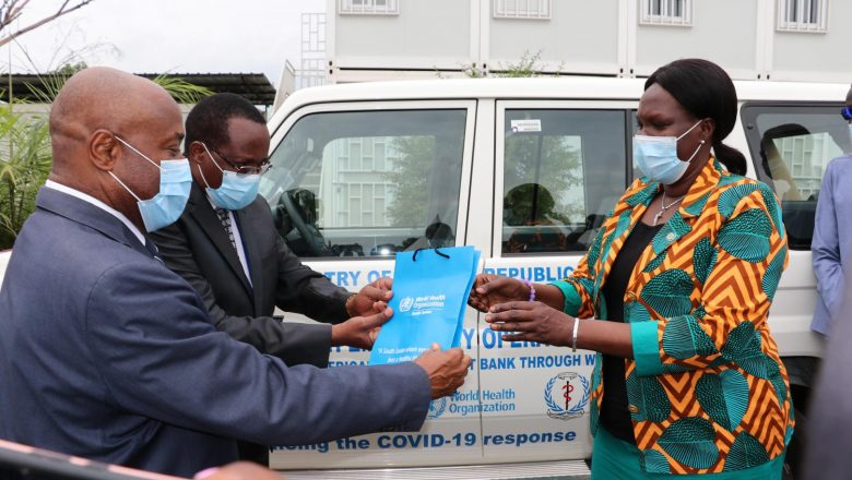 South Sudan: African Development Bank and WHO hand over vehicles to support Covid-19 response
