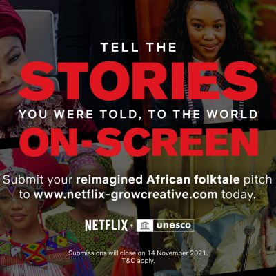 Finding Africa's Next Generation of Filmmakers: Netflix & UNESCO Launch Groundbreaking Competition in Sub-Saharan Africa